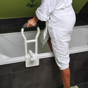 barre d'accès au bain securit