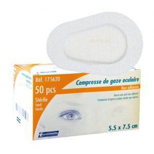 compresses oculaires