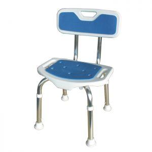 siège de douche blue seat dos pliant