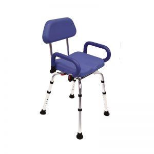 siège de douche pivotant blue swing
